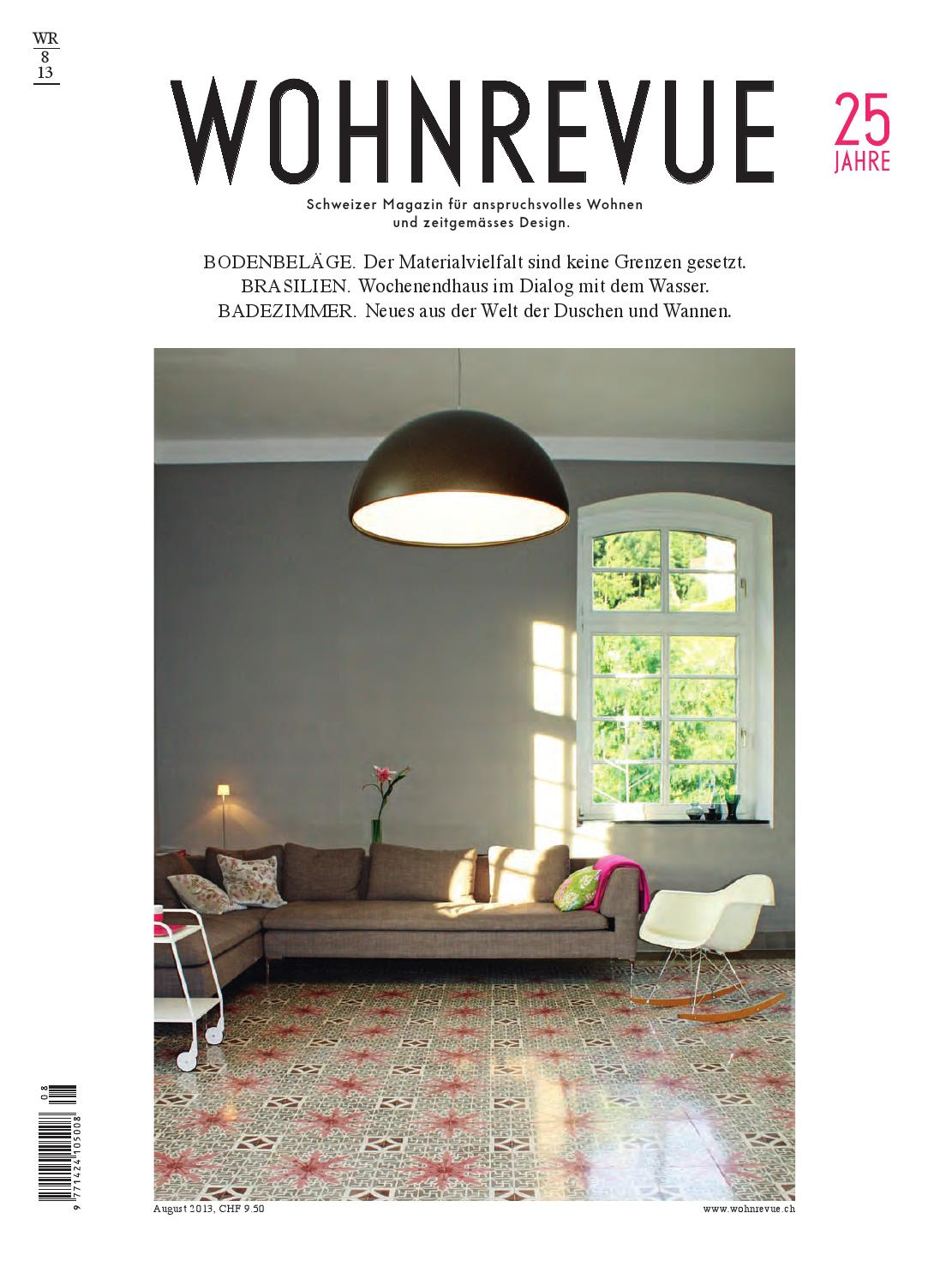 wohnrevue 08 2013 by boll verlag - issuu, Badezimmer ideen