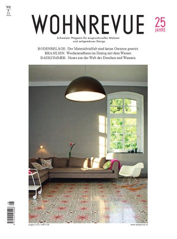 Wohnrevue 08 2013 by Boll Verlag - issuu