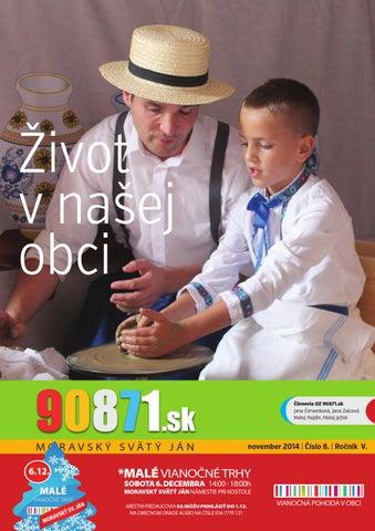 53c92ca0f Časopis 90871.sk november 2014 by Zahori.sk - issuu
