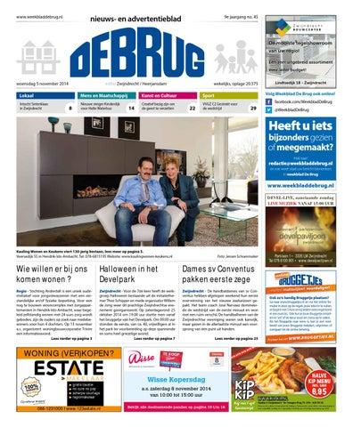 Halloween Zwijndrecht.Weekblad De Brug Week 45 2014 Editie Zwijndrecht By
