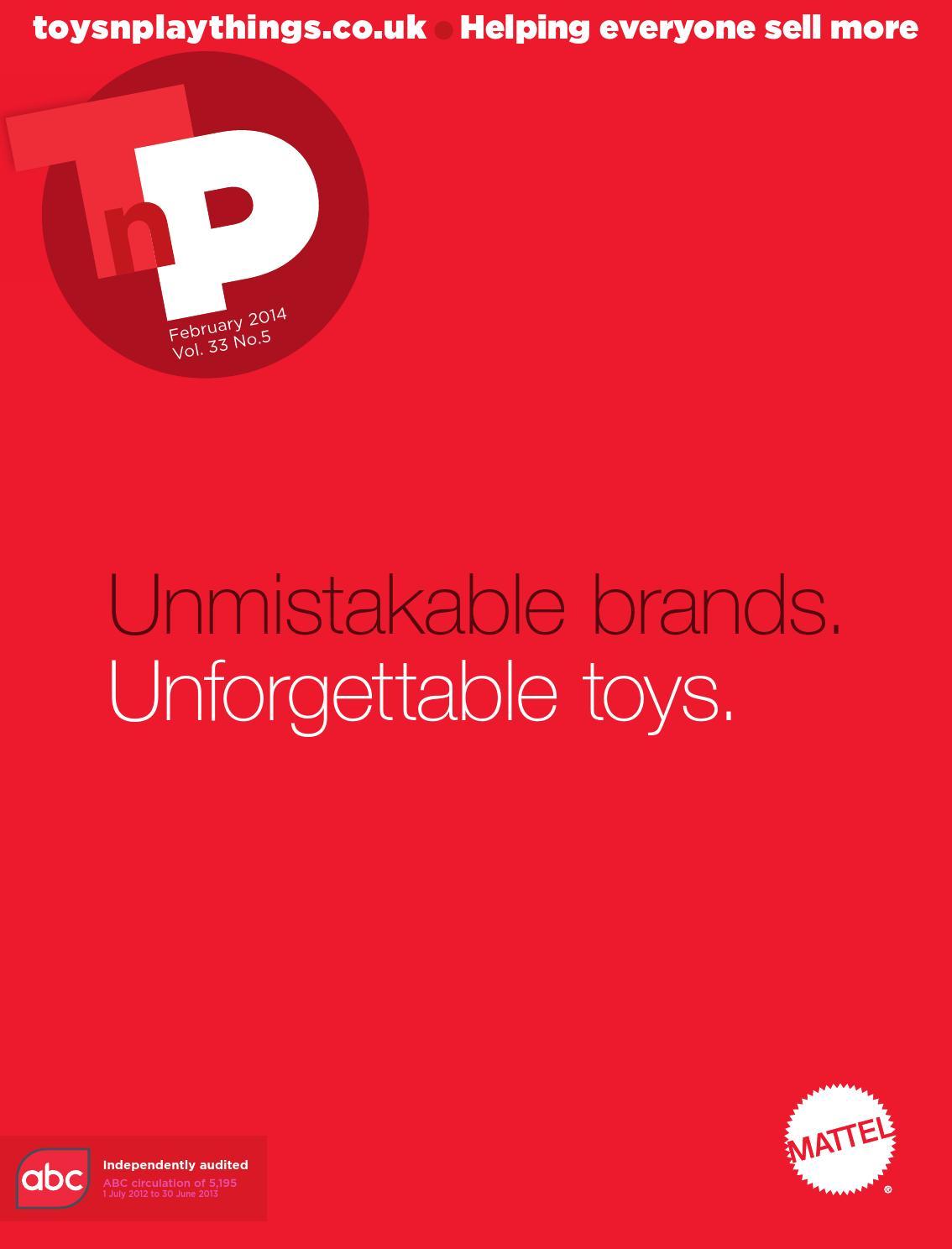 fd6fafe3102a Toys n Playthings February 2014 by Lema Publishing - issuu