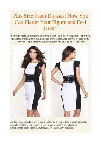 Plus size prom dresses: now you can flatter your figure and feel ...