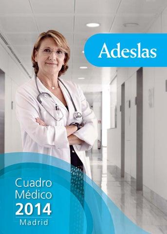 Cuadro Medico Adeslas Madrid By Esther Lopez Issuu