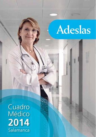 Cuadro Medico Adeslas Salamanca By Esther Lopez Issuu