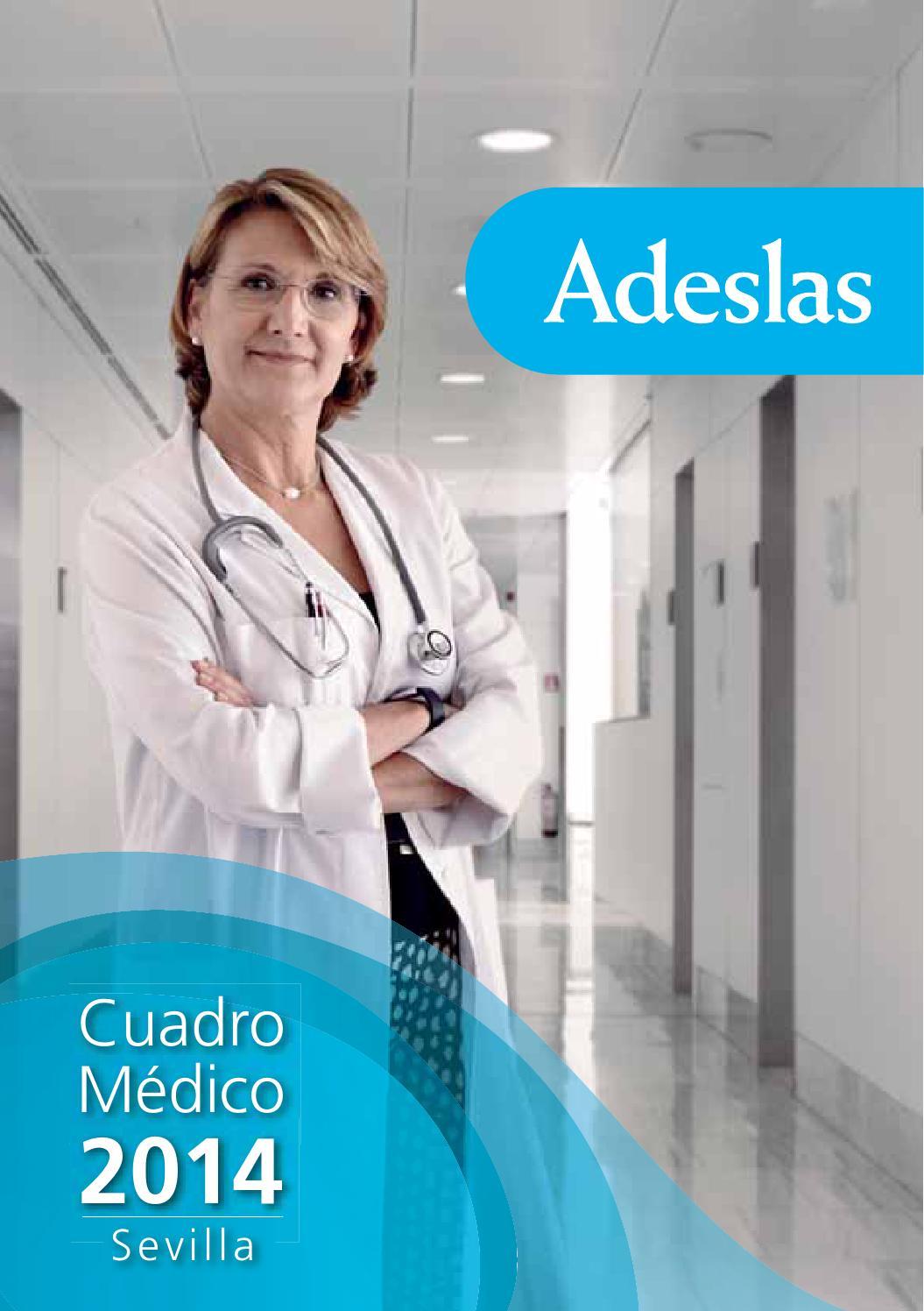 Cuadro medico adeslas sevilla by esther lopez issuu for Oficinas de adeslas en madrid