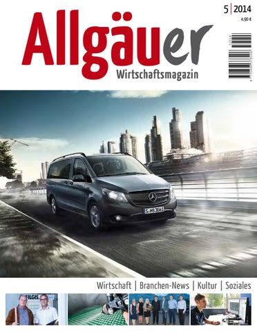 Allgäuer Wirtschaftsmagazin_Oktober 2014 by Thomas Tänzel - issuu