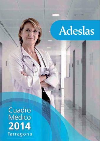 Cuadro Medico Adeslas Tarragona By Esther Lopez Issuu