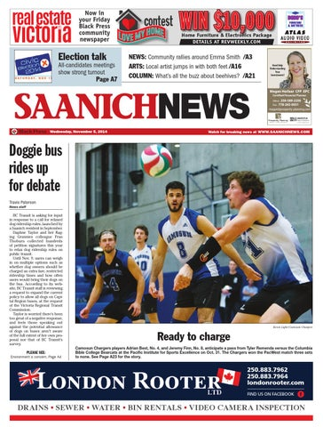 bbfc503d5689 Saanich News, November 05, 2014 by Black Press Media Group - issuu