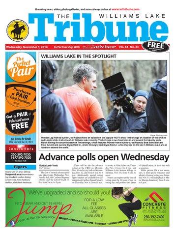 1ee3c2e2ab3b Williams Lake Tribune, November 05, 2014 by Black Press Media Group ...