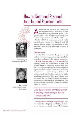 Responding To A Rejection Letter from image.isu.pub