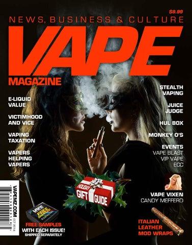 Vape Magazine October November 2014 By Matt Schramel Issuu