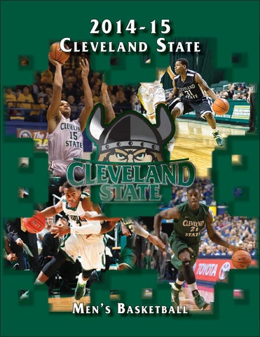 0c32e6e7a97 2014-15 Cleveland State Men s Basketball Informational Guide by Greg ...