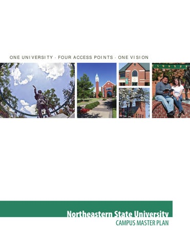 Nsu Tahlequah Campus Map.Northeastern State University Campus Master Plan By Smithgroup Issuu