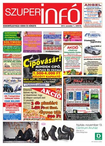 fd02c8e49d Szuperinfo 2014. 11. 07. by Fricsk Ferenc - issuu