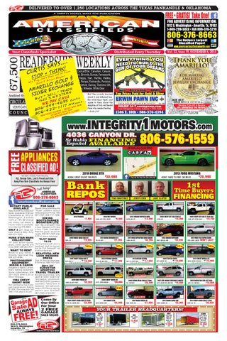 American Classifieds Amarillo Tx Nov 6 2014 By