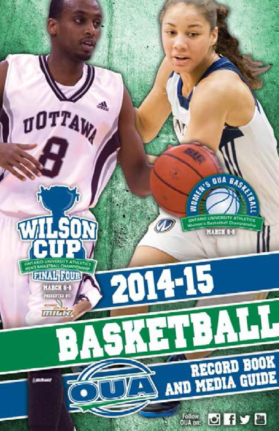 2014 15 oua basketball record book and media guide by - University league tables french ...