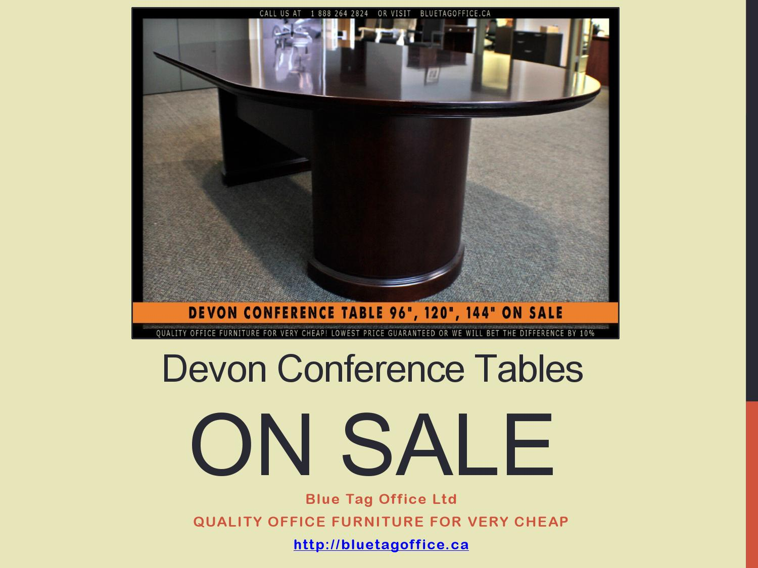 Picture of: Devon Conference Tables On Sale At Blue Tag Office By Blue Tag Office Ltd Issuu