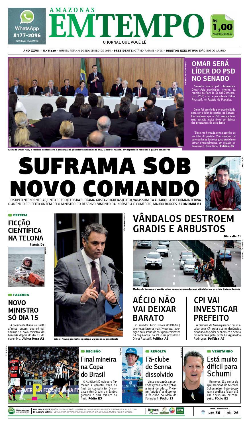 edcfe34f05ab8 EM TEMPO - 6 de novembro de 2014 by Amazonas Em Tempo - issuu