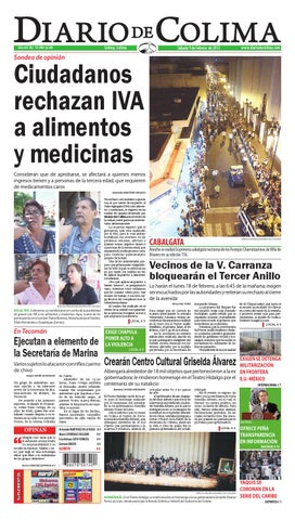 3ac8e0b45ad8 Ciudadanos rechazan iva by Armando Martínez Orozco - issuu