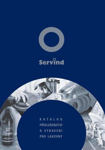 Katalog příslušenství a vybavení pro lakovny by SERVIND s.r.o. - issuu d779167e74