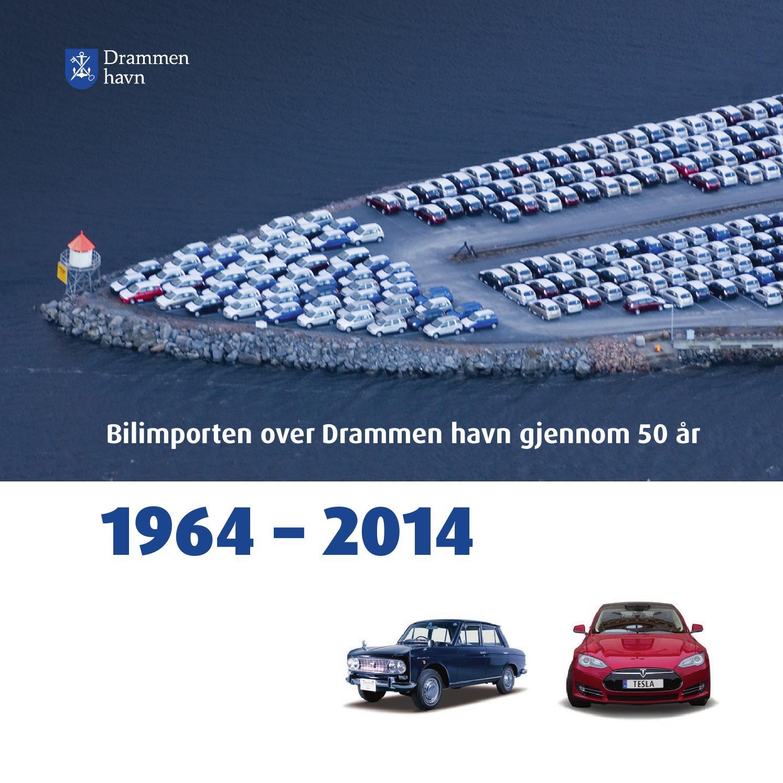 c1e7d676 Bilimporten over Drammen havn gjennom 50 år by Godt Sagt kommunikasjon AS -  issuu