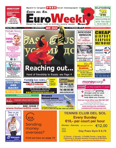 Euro Weekly News - Costa del Sol 6 - 12 November 2014 Issue 1531 by ... 052065f7cb2