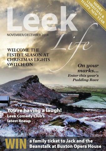 Leek Life Nov Dec 2014 By Times Echo And Life Issuu