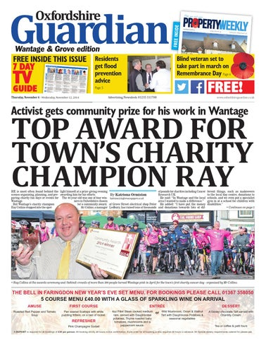6 November 2014 Oxfordshire Guardian Wantage By Taylor Newspapers