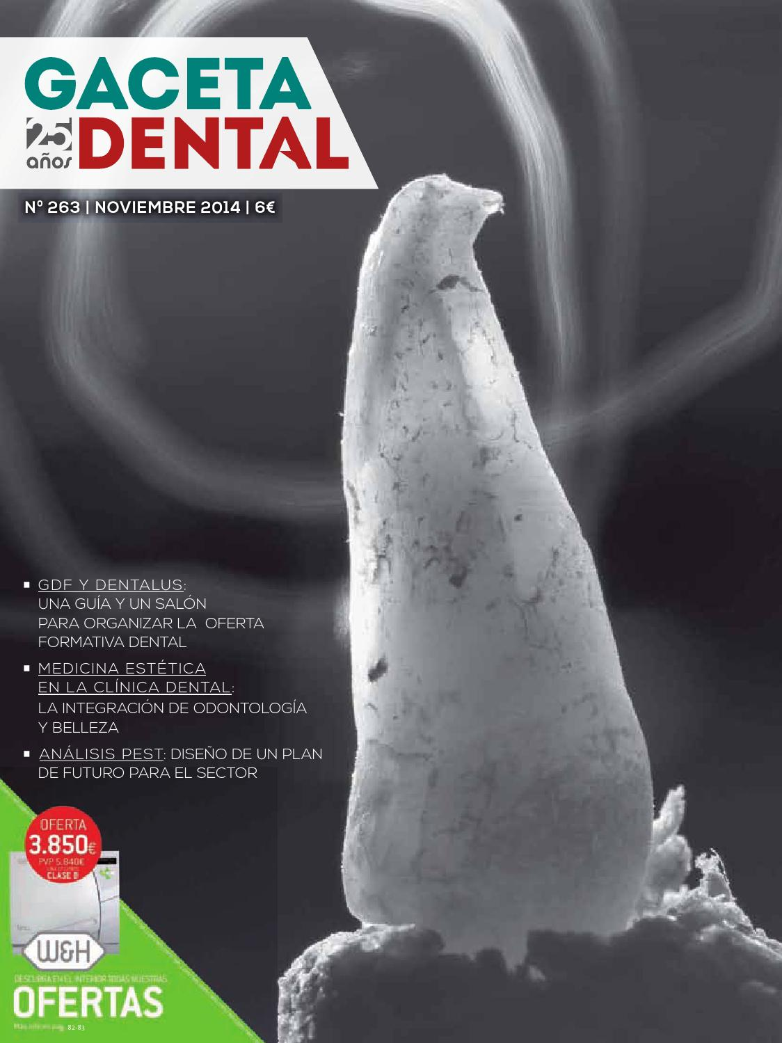 Gaceta Dental - 263 by Peldaño - issuu 80696b9b0413