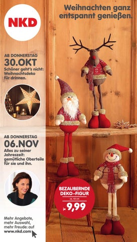 Weihnachtsdeko Nkd.Nkd 442014 By Alle Angebote Issuu