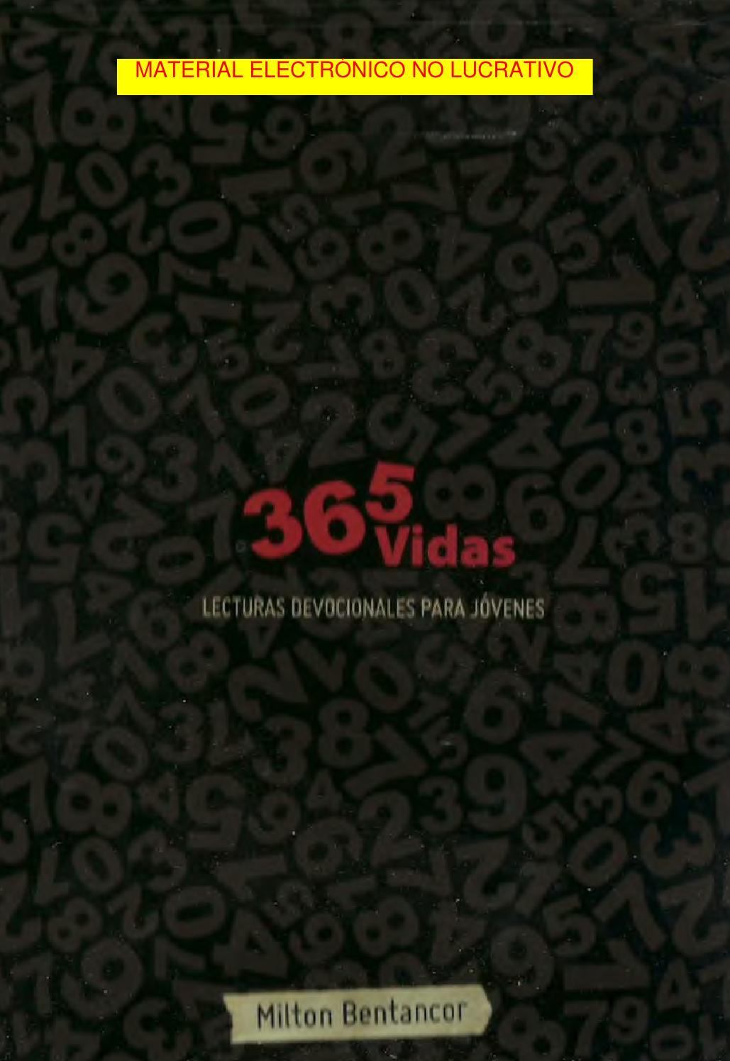 365 Vidas Matinal De Jovenes By Spiritual Media Issuu