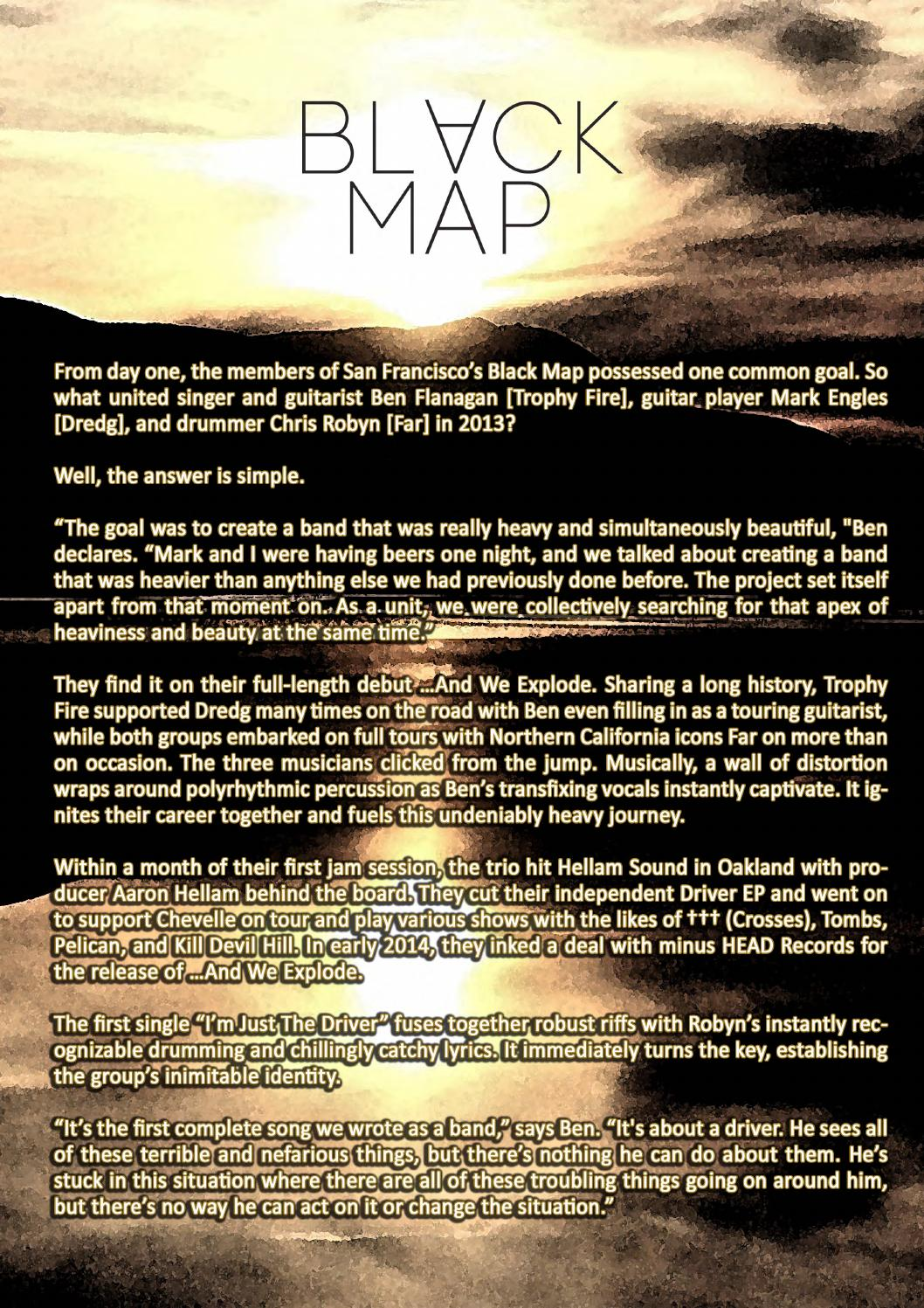 Biography black map      and we explode by Menno Kappe - issuu