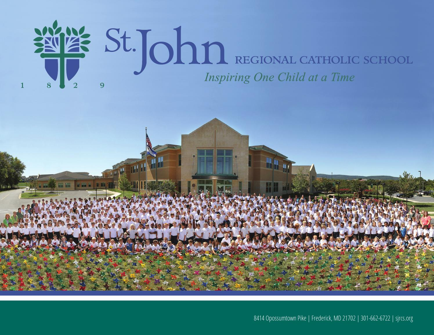 Accredited Online Colleges >> St. John Regional Catholic School by Freestyle Designs LLC ...
