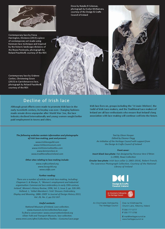 b337805ae Irish Lace by Design & Crafts Council of Ireland - issuu