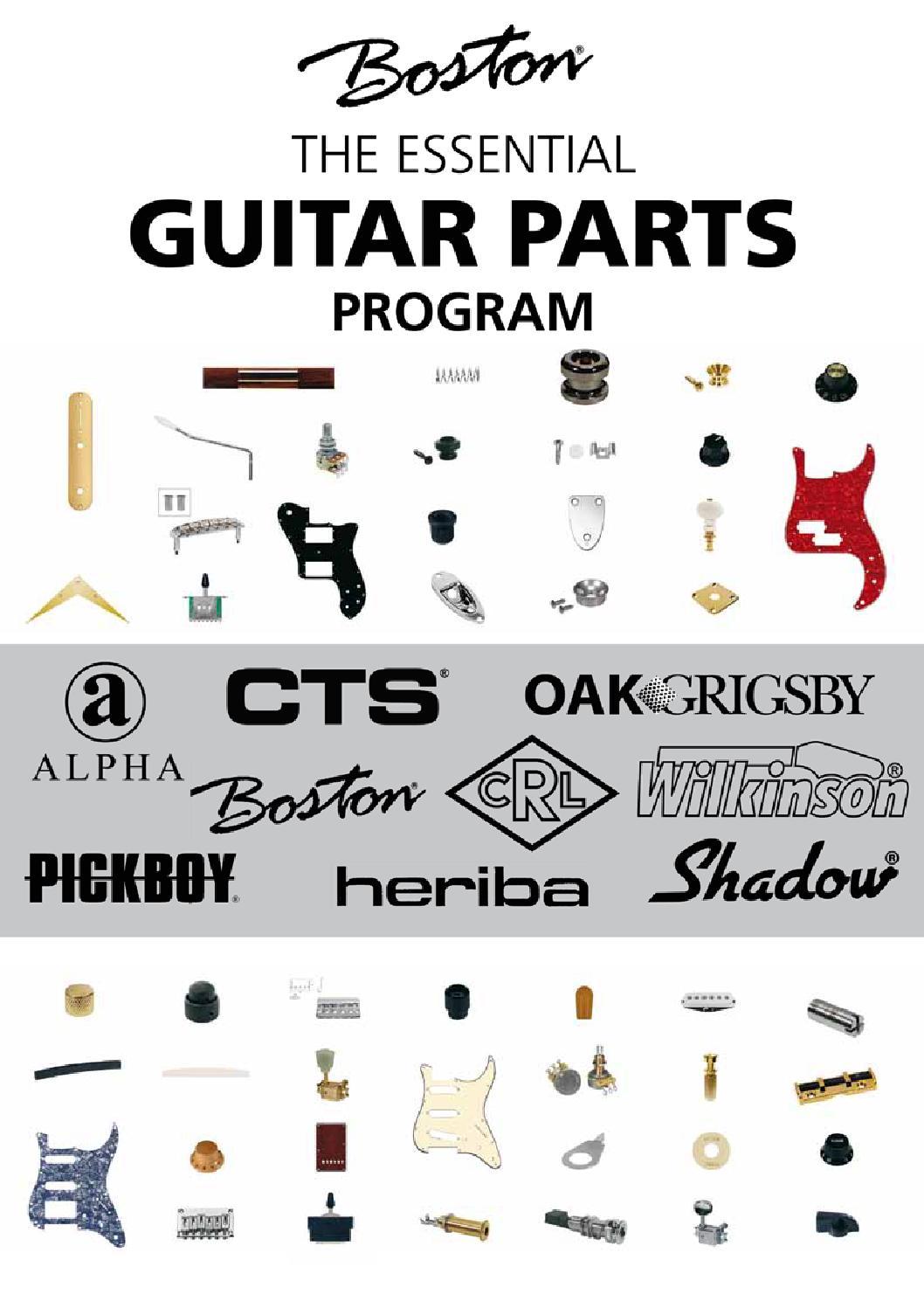 Guitar Parts Boston : catalogo ricambi boston by valmusic professional issuu ~ Hamham.info Haus und Dekorationen