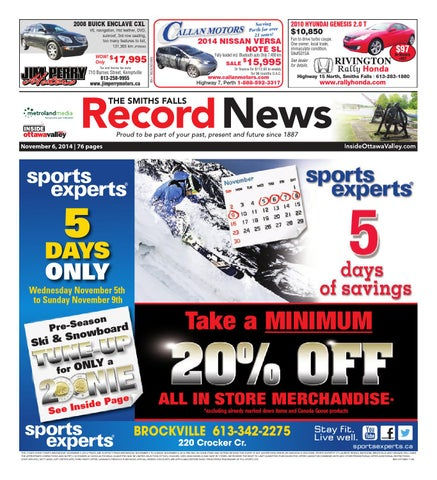 Smithsfalls110614 by Metroland East - Smiths Falls Record News - issuu