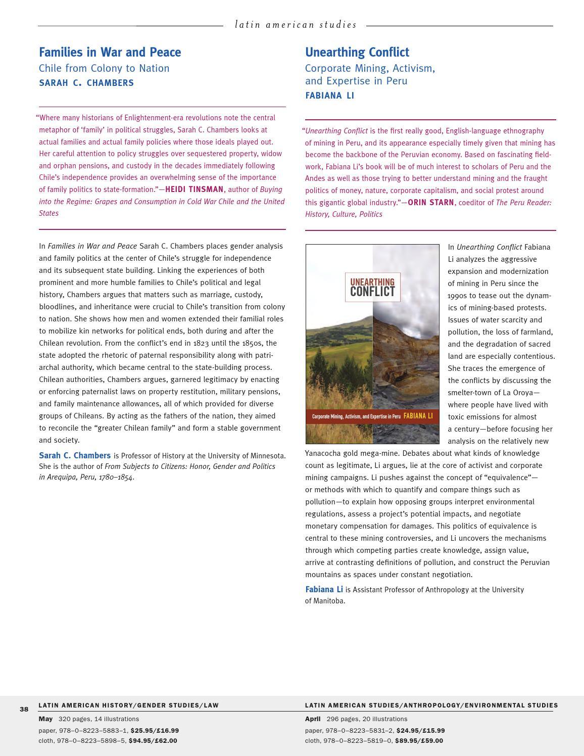 Duke University Press Spring & Summer 2015 Catalog by Duke University Press  - issuu