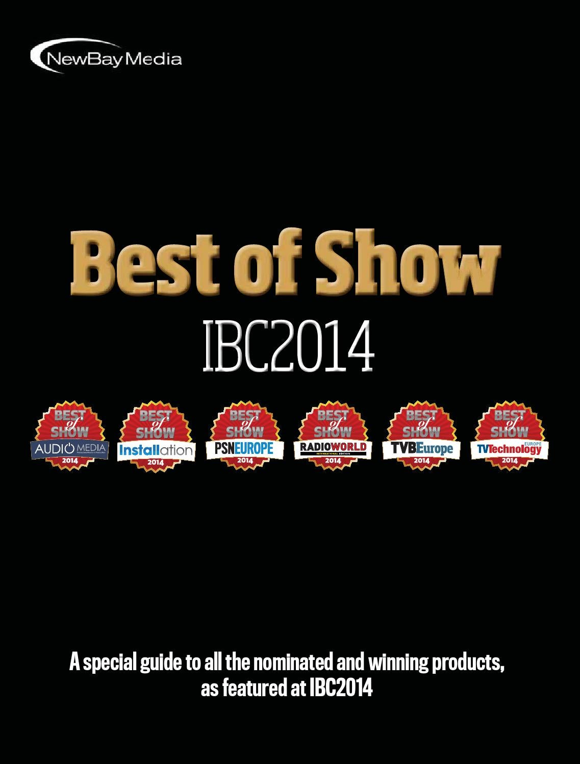 Best of show ibc2014 digital edition