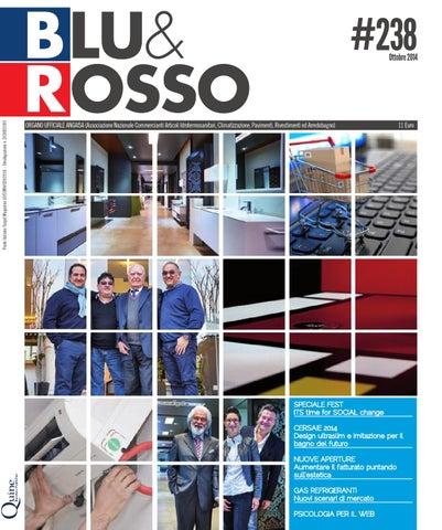 blu & rosso | # 238 | ottobre 2014 | mercato, tecnologie e ... - Simonetti Villorba Arredo Bagno