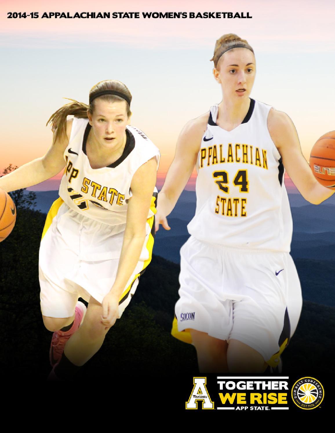 2014 15 Appalachian State Women S Basketball Yearbook By Appalachian State University Athletics Issuu