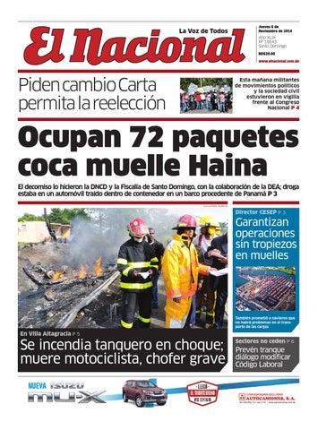 Impreso06 11 14 by Periodico El Nacional - issuu 9fe9a29ff4c