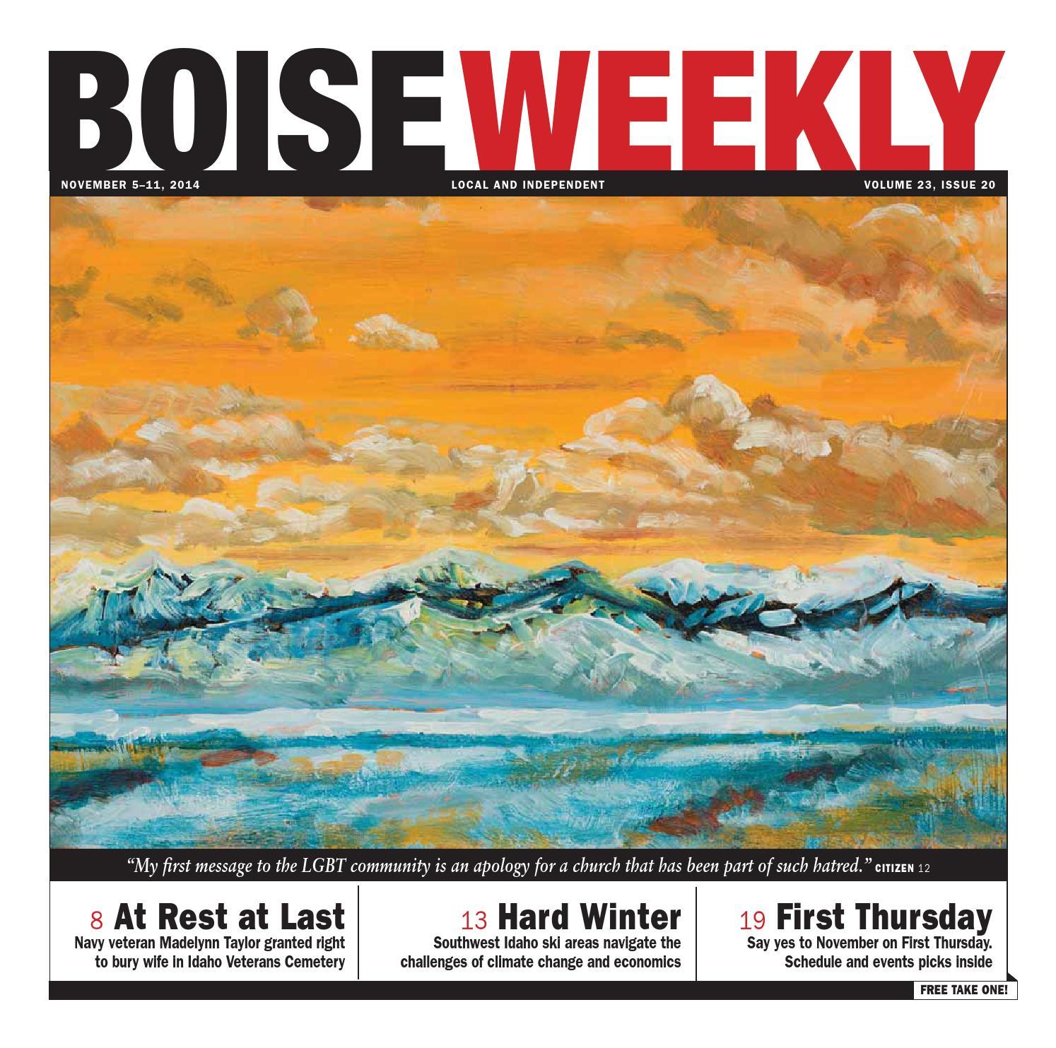 Boise Weekly Vol 23 Issue 20 by Boise Weekly issuu