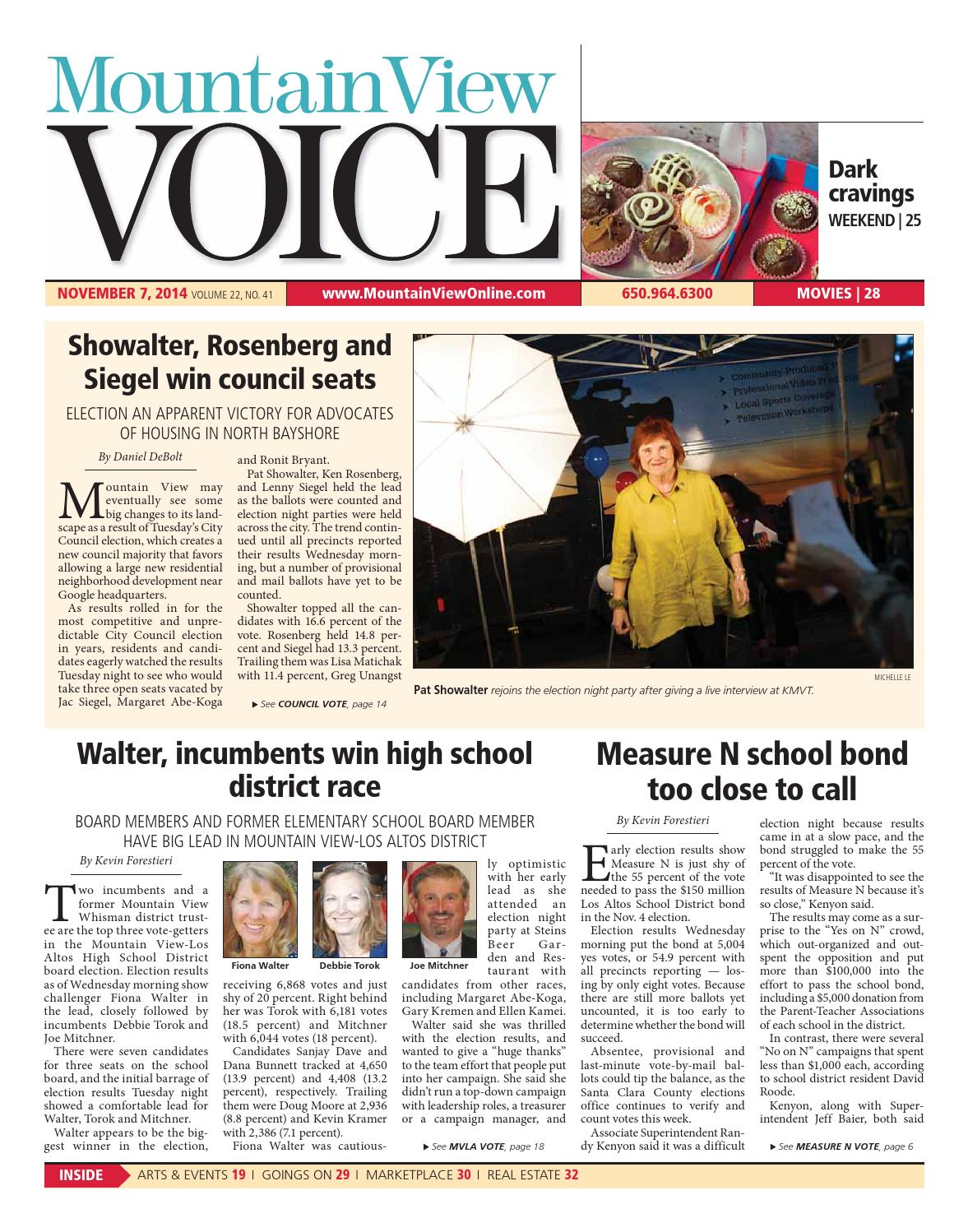 Mountain View Voice November 7, 2014 by Mountain View Voice