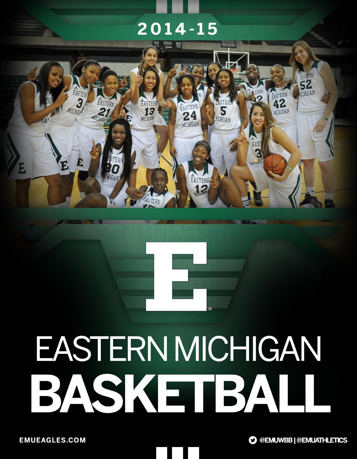 2014-15 EMU Women's Basketball Guide by Eastern Michigan