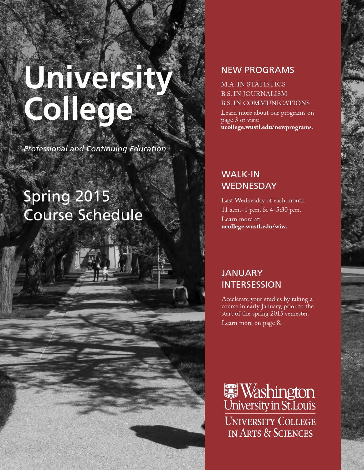 2015 Spring Course Catalog University College By 360 Degreepass Diagram Success Issuu