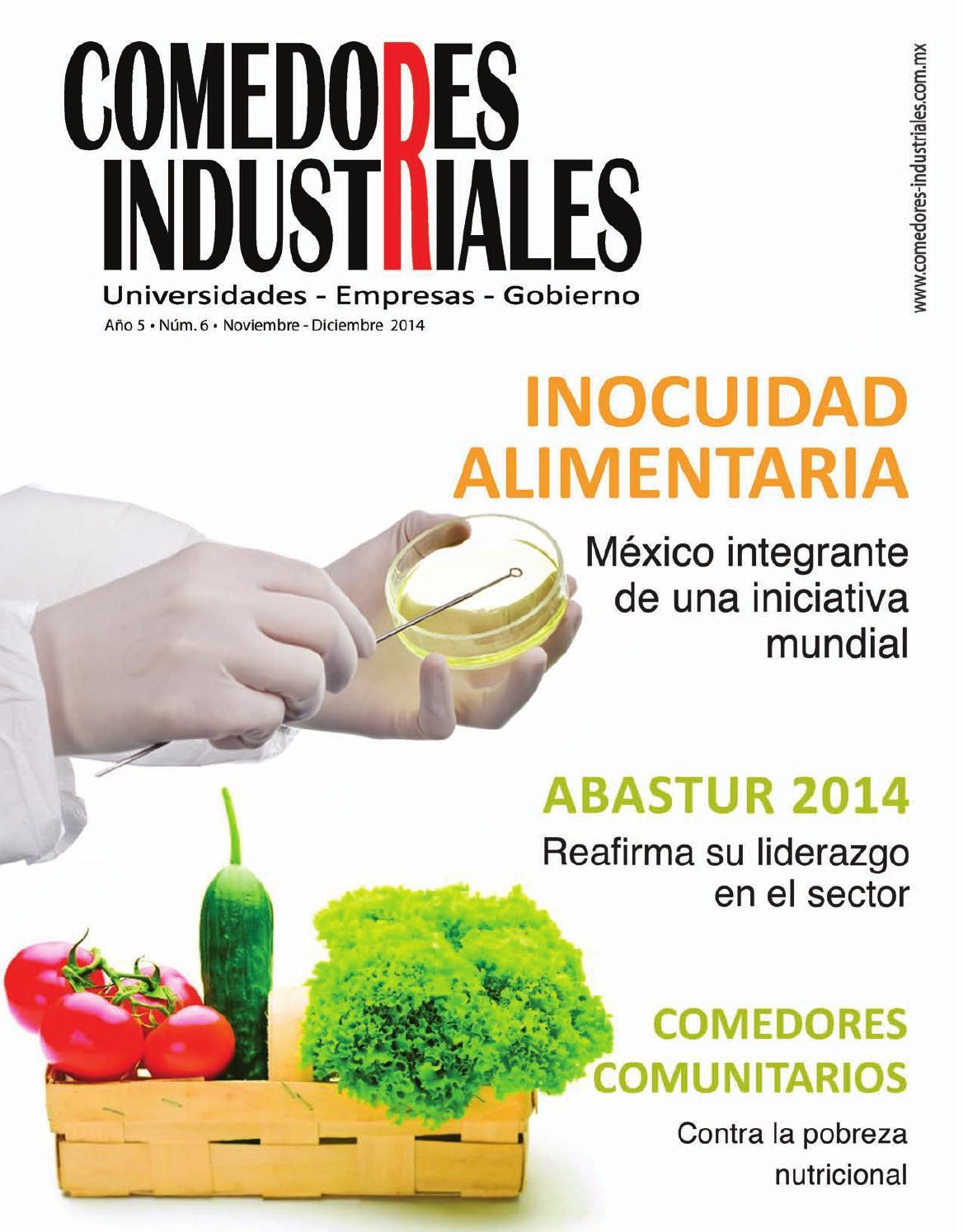 Comedores industriales noviembre diciembre 2014 by for Compra de comedores nuevos