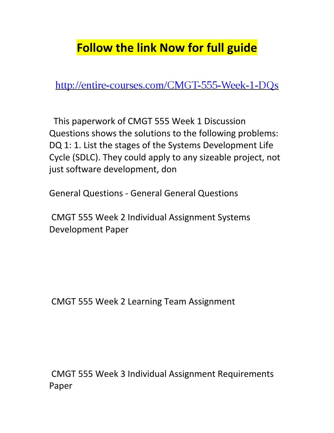 COM 537 Week 3 Individual Assignment Internal and External Stakeholders