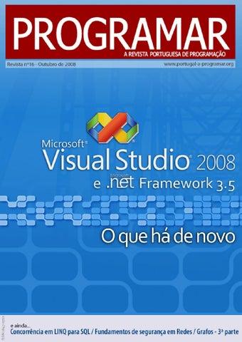 6a4eee869c0 Revista programar 16ª Edição - Outubro 2008
