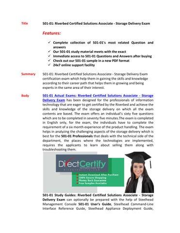 501 01 pdf training guides
