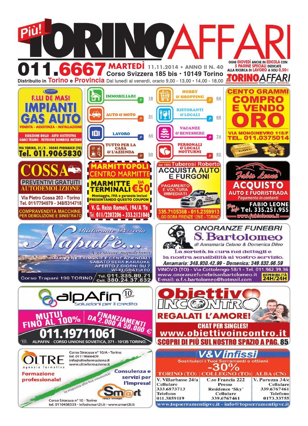 Sae Arredo Bagno Torino.Piu Torino Affari Ed Free 40 Del 11 11 2014 By Torino Affari Issuu